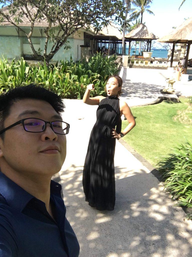 峇里島參加婚禮