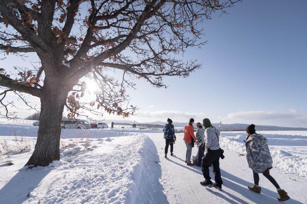 海外婚紗|北海道|雪|
